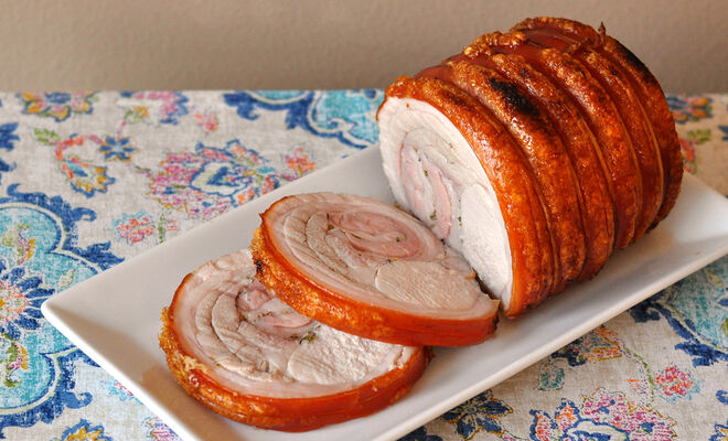 Oven-Roasted Porchetta with Garlic & Herbs | D'Artagnan