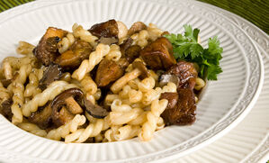 pasta-with-foie-gras-and-wild-mushrooms-recipe