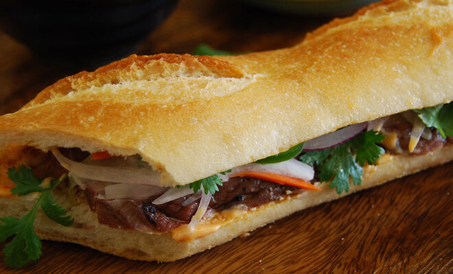Smoked Duck Banh Mi Vietnamese Sandwiches Recipe | D'Artagnan