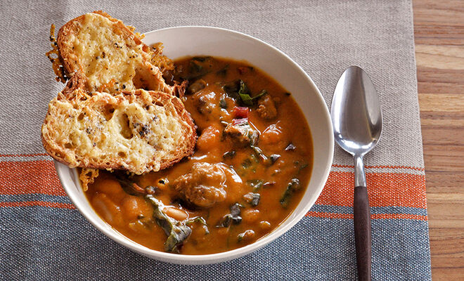 French White Bean and Sausage Soup Recipe | D'Artagnan