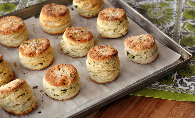 Wild Ramps Buttermilk Biscuits Recipe | D'Artagnan
