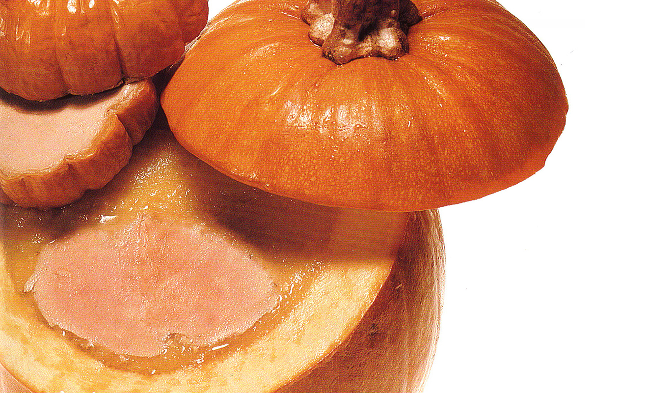 Foie Gras in a Pumpkin Terrine & Foie Gras Mousse in Baby Pumpkins Recipe   D'Artagnan