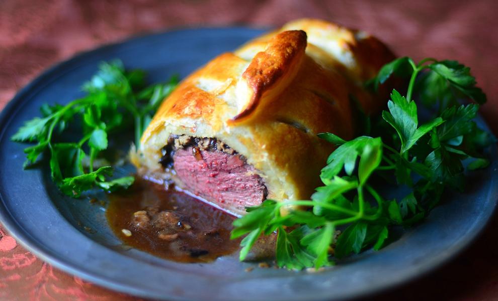 Deana Sydney's Duck Wellington with Truffle Armagnac Sauce Recipe | D'Artagnan
