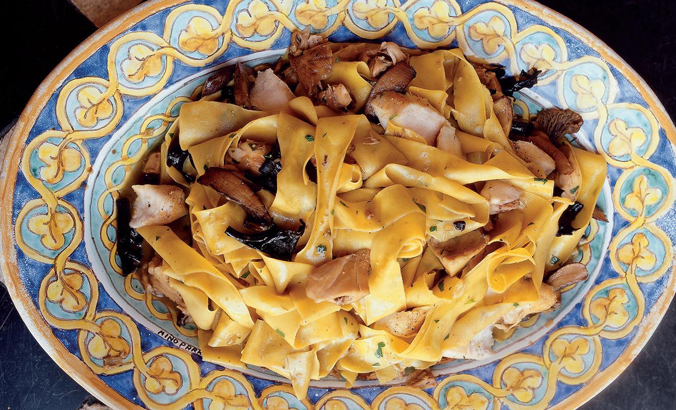 Frank Stitt's Pappardelle with Rabbit, Porcini & Parmesan Recipe | D'Artagnan