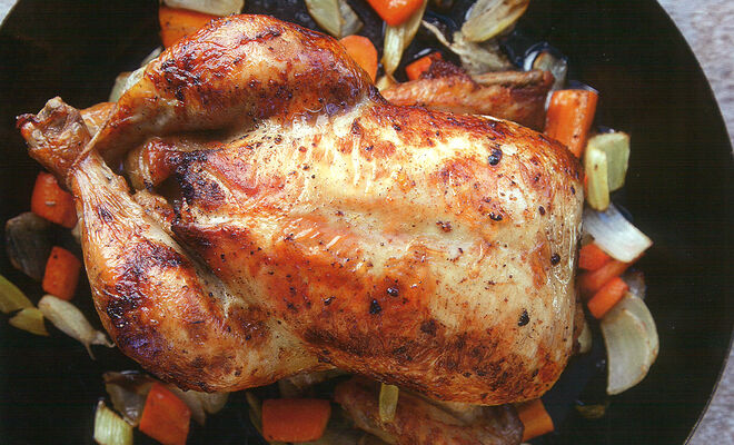 Norman Van Aken Oven-Roasted Mojo Chicken Recipe | D'Artagnan
