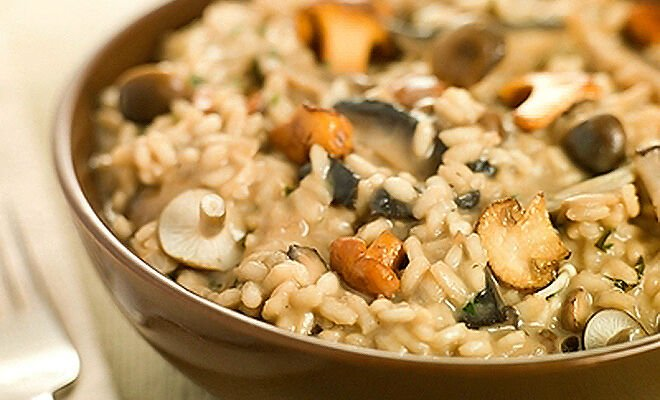 Risotto With Wild Mushrooms Recipe D Artagnan