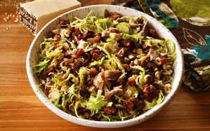 brussels-sprouts-salad-with-bacon-chicken-cheese-recipe