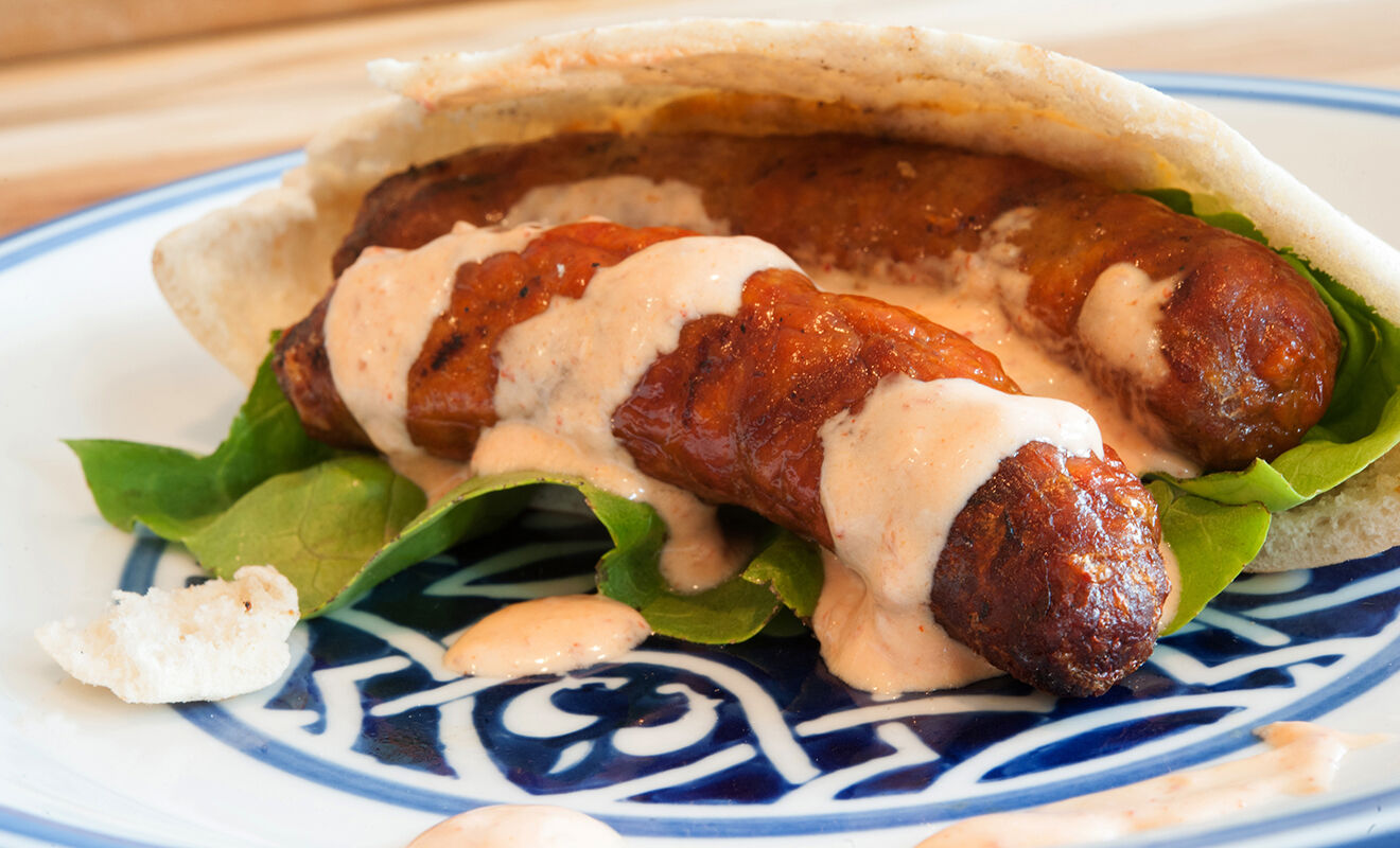 lamb-merguez-sausage-with-harissa-sauce-recipe