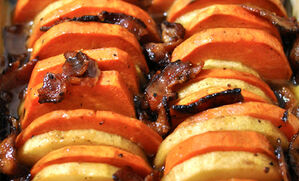 baked-yams-with-apple-and-bacon-recipe