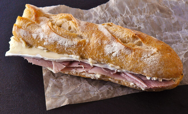 French-Style Ham and Cheese Sandwich Recipe   D'Artagnan