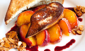 foie-gras-peach-melba-recipe