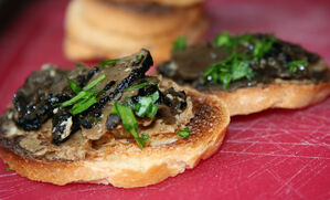 porcini-butter-truffle-bruschetta-recipe
