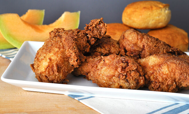 Extra Crispy Duck Fat Fried Chicken Recipe | D'Artagnan
