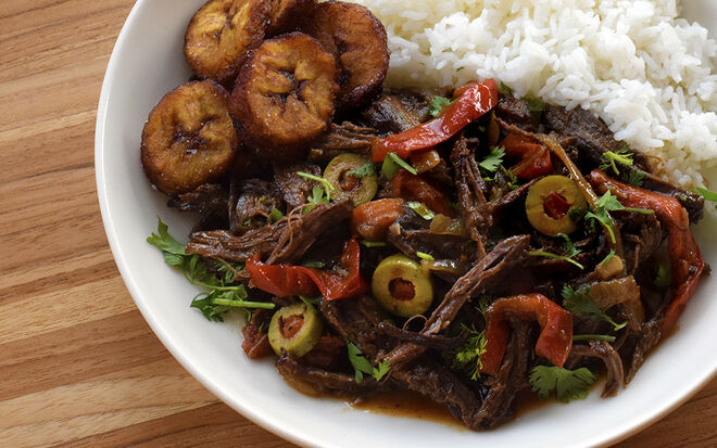 Ropa Vieja Recipe with Plantains Recipe | D'Artagnan