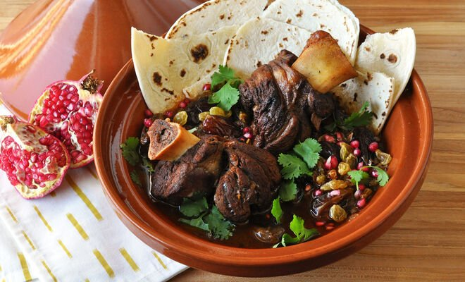 Lamb Shanks Tagine with Dates Recipe | D'Artagnan
