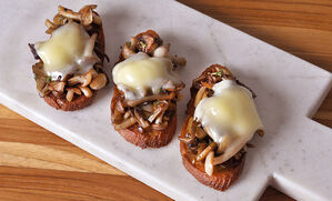 crispy-mushroom-and-taleggio-crostini-recipe