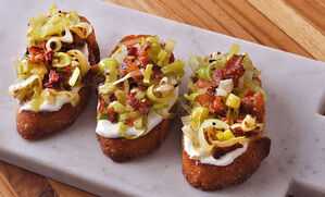 bacon-leek-truffle-crostini-appetizer-recipe