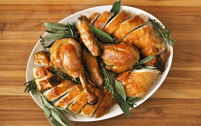 Herb Roasted Capon Recipe | D'Artagnan