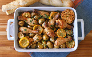 garlic-lemon-herb-roast-chicken-drumsticks-recipe