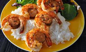 grilled-andouille-and-spicy-shrimp-kabobs-recipe
