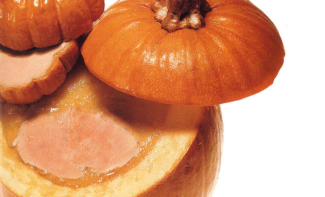 Foie Gras in a Pumpkin Terrine & Foie Gras Mousse in Baby Pumpkins Recipe | D'Artagnan