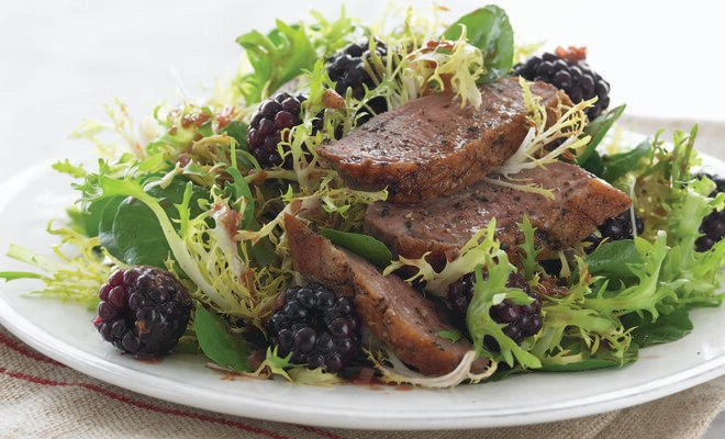 Jennifer McLagan's Duck Breast with Blackberries Recipe | D'Artagnan