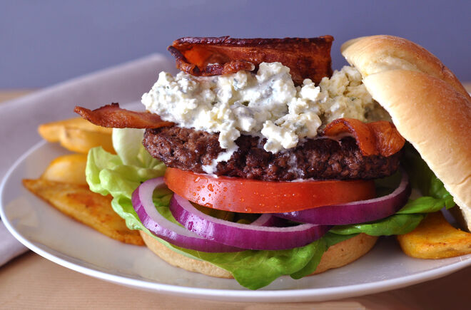 Big Bleu Buffalo /  Bison Burger Recipe | D'Artagnan