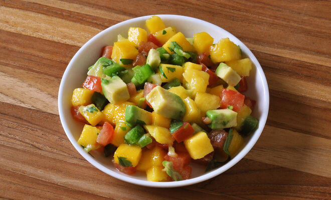 Mango Avocado Salsa for Grilled Meats | D'Artagnan