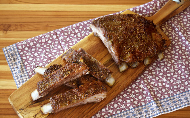 Slow Roasted Dry Rub Lamb Ribs Recipe | D'Artagnan