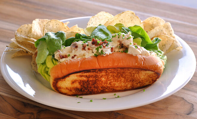 Lobster Rolls with Hickory Smoked Bacon Recipe   D'Artagnan