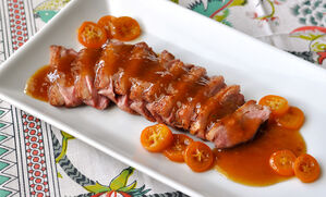 duck-breasts-with-honey-citrus-sauce