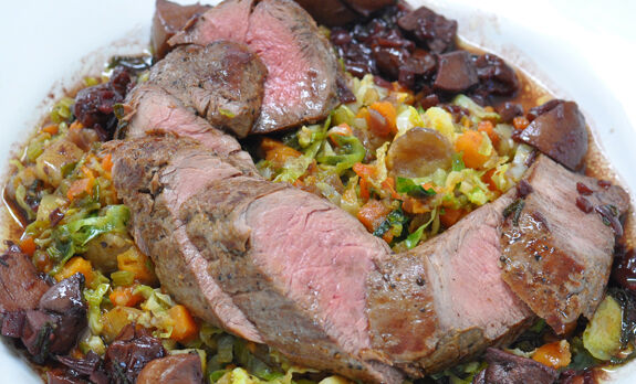 wild-boar-tenderloins-with-potato-hash-recipe