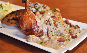 chicken-with-morels-and-bacon-recipe