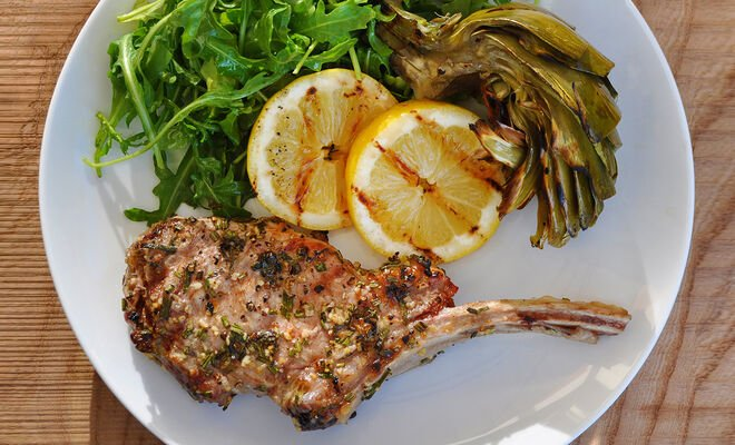 Tuscan-Style Veal Chops Recipe | D'Artagnan