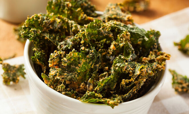 Duck Fat Kale Chips Recipe | D'Artagnan