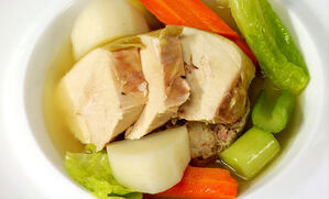poule-au-pot-with-foie-gras-stuffing-recipe