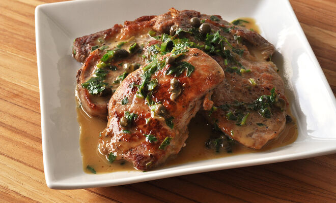 Easy Veal Scallopini with Lemon and Capers Recipe | D'Artagnan| D'Artagnan