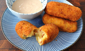 chorizo-croquettes-with-paprika-sauce-recipe