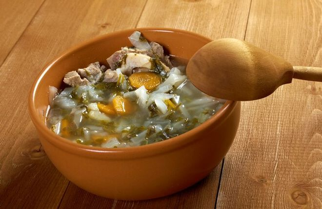 Duck and Cabbage Garbure Soup