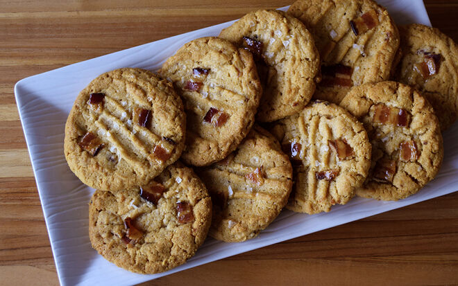 Peanut Butter Bacon Cookies Recipe | D'Artagnan