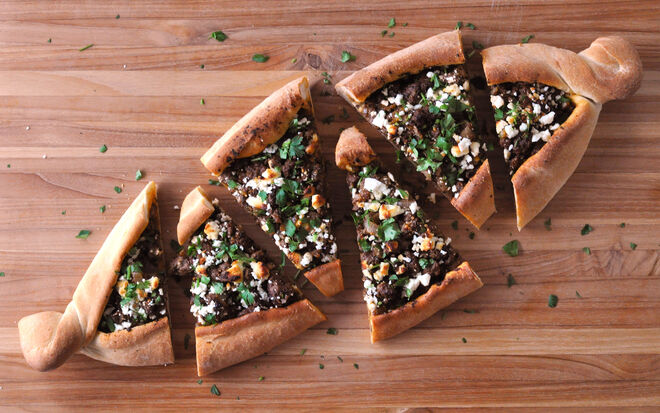 Turkish-Style Pide Flatbread Recipe | D'Artagnan