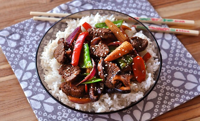 Lamb Tenderloin Asian Stir-Fry Recipe | D'Artagnan