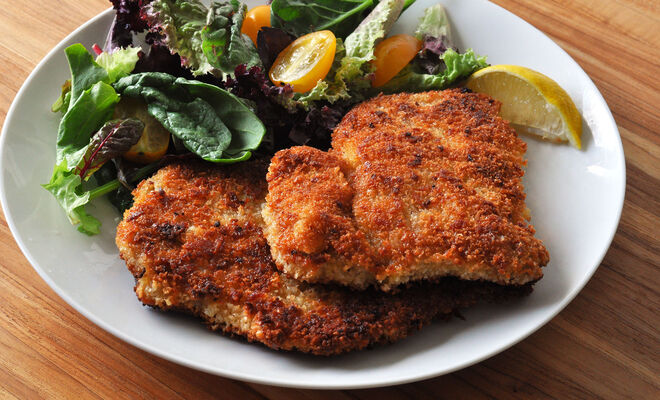 Pan-Fried Breaded Veal Cutlets Recipe | D'Artagnan