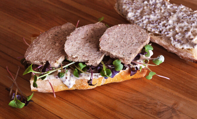 Country Pate Sandwich  D'Artagnan