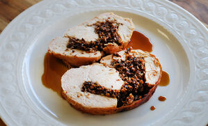 turkey-breast-with-mushroom-stuffing-recipe