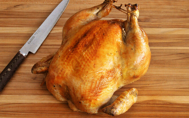 Simple Roast Capon Recipe | D'Artagnan