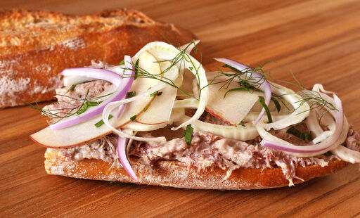 duck-rillettes-fennel-slaw-sandwich-recipe