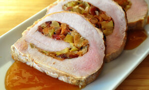 pork-loin-stuffed-with-bacon-apples-and-cranberry-recipe