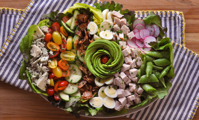 Smoked Chicken Cobb Salad Recipe | D'Artagnan