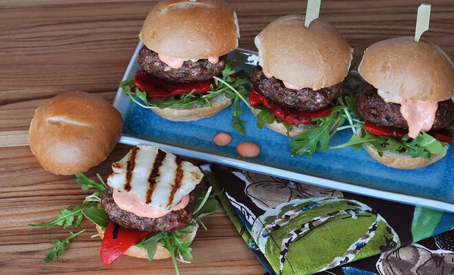 Spicy Lamb Burger Sliders with Harissa Recipe | D'Artagnan
